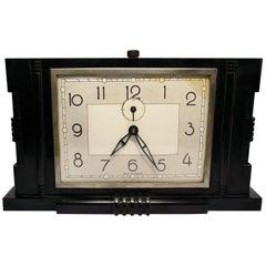 French 1930s Art Deco Bakelite Clock