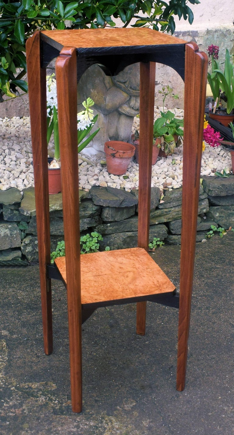 Maple French 1930's Art Deco Plant Stand For Sale