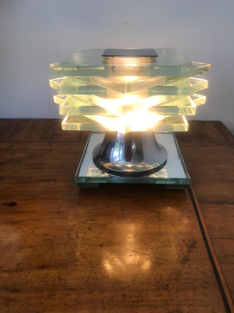 French 1930s Desny Lamp  For Sale 7
