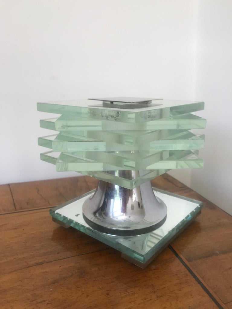 Art Deco French 1930s Desny Lamp  For Sale