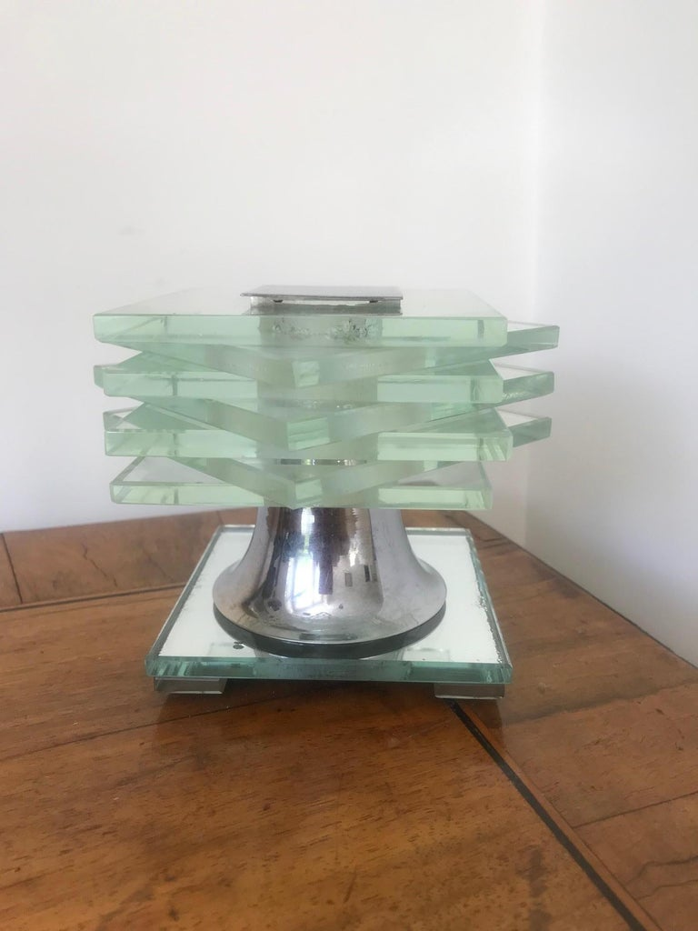 French 1930s Desny Lamp  In Good Condition For Sale In London, GB