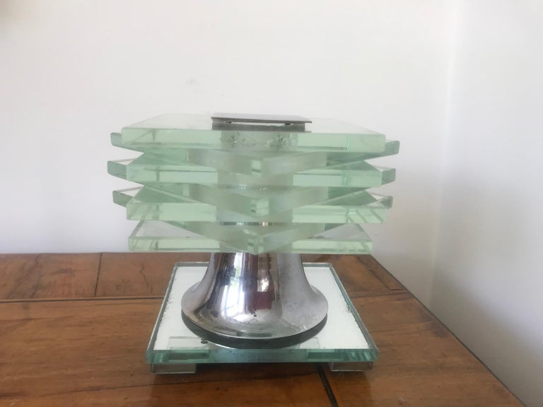20th Century French 1930s Desny Lamp  For Sale