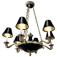 French 1930s Empire Chandelier