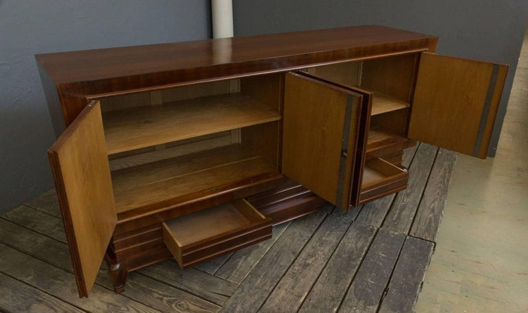 Mid-20th Century French 1940s Art Deco Style Sideboard For Sale