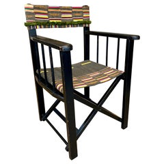 French 1940s Folding Camp Chair