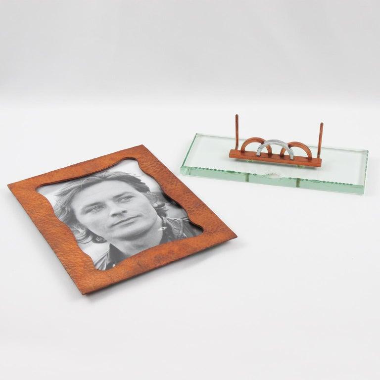 French 1940s Copper Picture Frame Copper In Good Condition For Sale In Atlanta, GA
