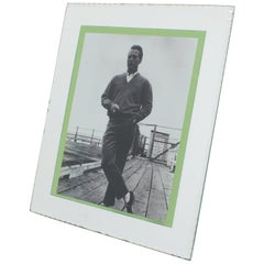 French 1940s Large Mirror Picture Frame