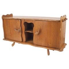 French 1940s Rustic Adirondack Pine Sideboard