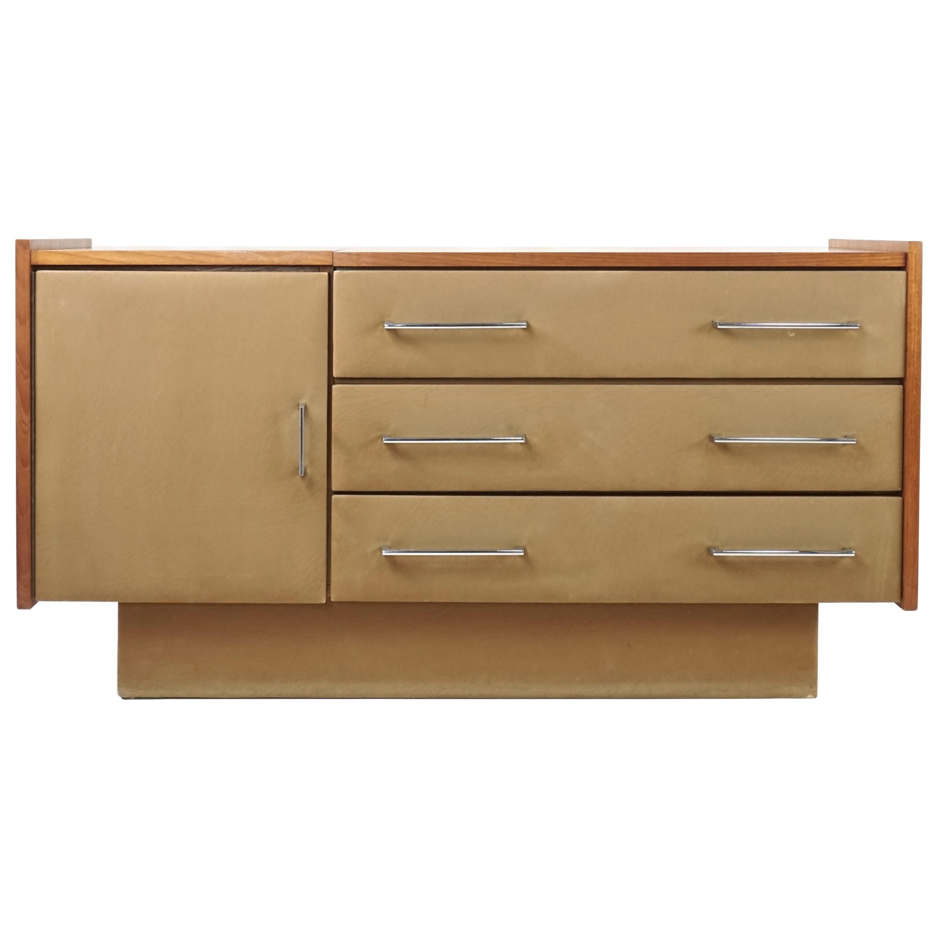 French 1950s - 1960s Design Chest of Drawers by Roger Landault for Regy