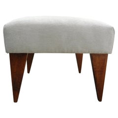 French 1950's Bench or Ottoman in the Style of Jeanneret, Perriand and Prouvé