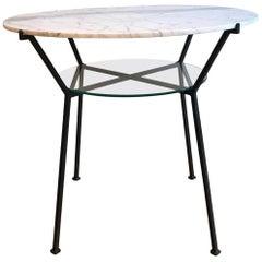 Französischer Charles Ramos Tisch, 1950er Jahre