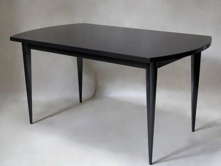 Mid-Century Modern French 1950s Extending Dining Table For Sale