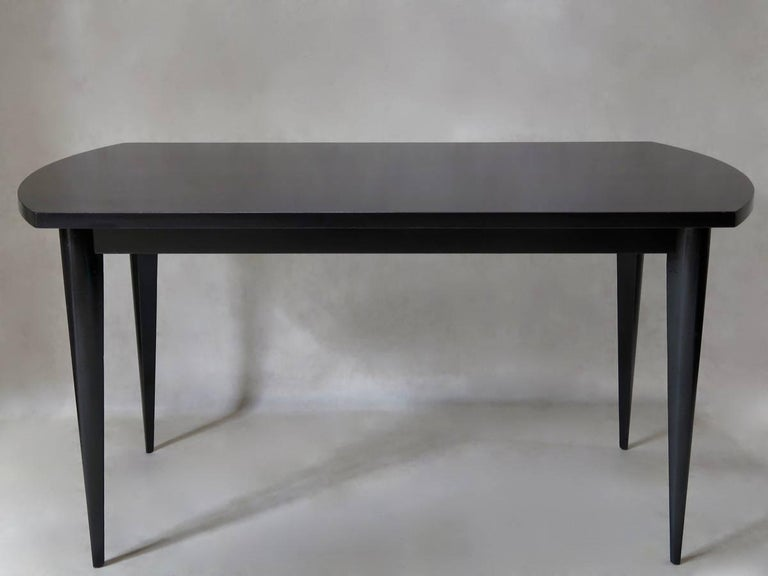 Painted French 1950s Extending Dining Table For Sale