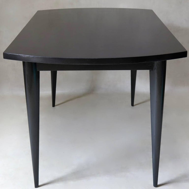 French 1950s Extending Dining Table In Good Condition For Sale In Isle Sur La Sorgue, Vaucluse