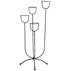 French 1950s Plant Stand in the Manner of Jean Royère