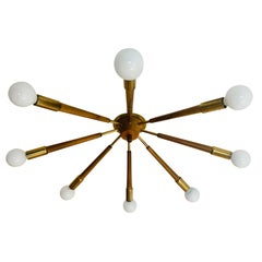 French 1960s Flush Sputnik Light