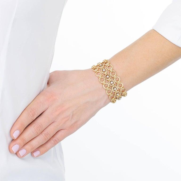 Women's French 1960s Gold Bracelet For Sale