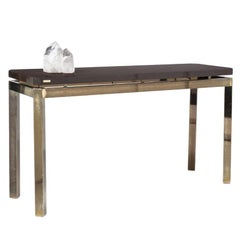 French 1970s Postwar Design Console Table