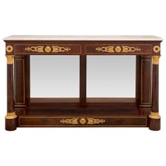 French 19th Century 1st Empire Period Console