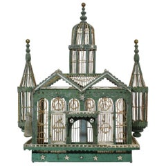 French 19th Century Architectural Birdcage