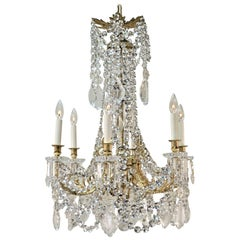 French 19th Century Baccarat Crystal Chandelier