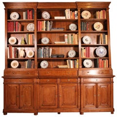 French 19th Century bookcase In Light Oak