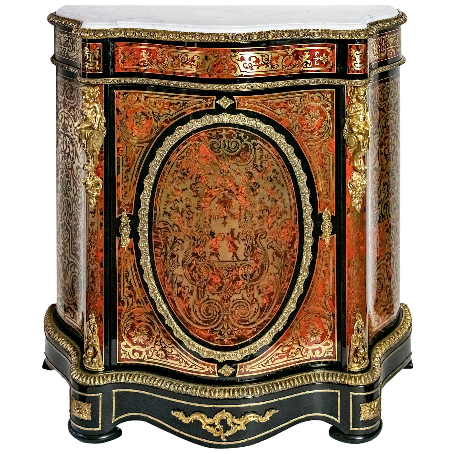 French 19th Century Boulle Cabinet