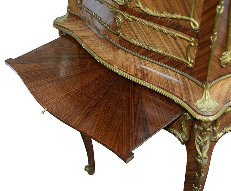 Louis XVI French 19th Century Cabinet on Stand after Zweiner For Sale