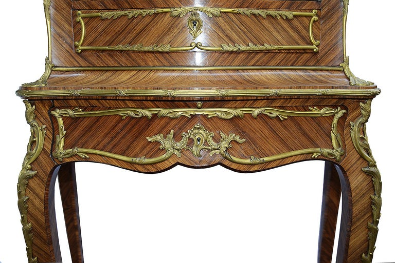 Veneer French 19th Century Cabinet on Stand after Zweiner For Sale