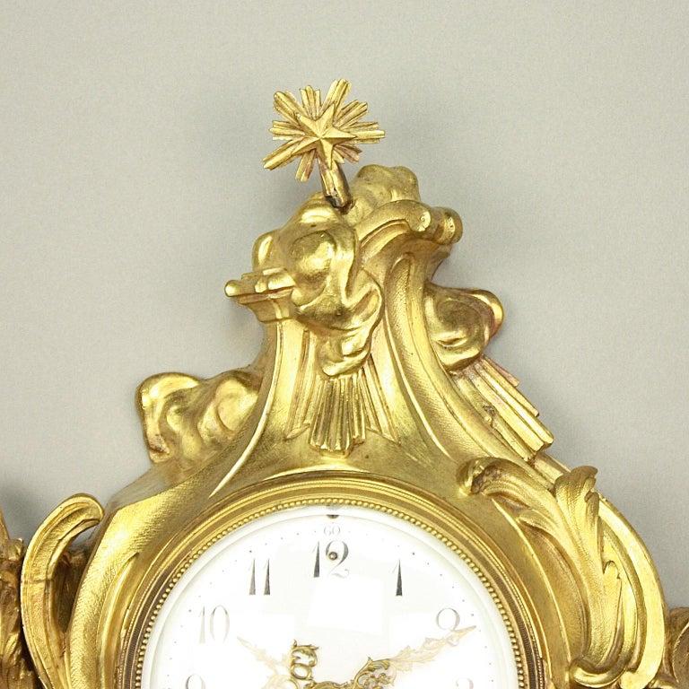 19tes Jahrhundert Kartell Uhr in der Art von Philippe Caffieri Französisch 2