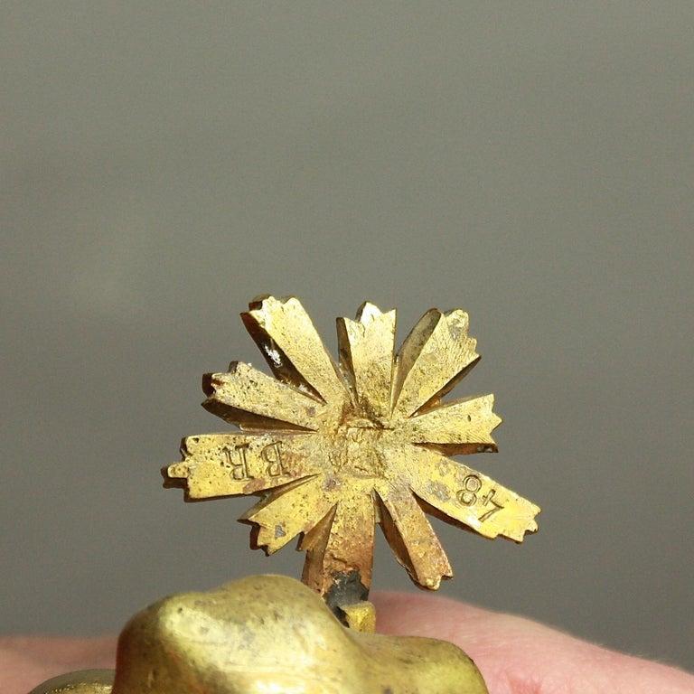 19tes Jahrhundert Kartell Uhr in der Art von Philippe Caffieri Französisch 8