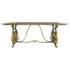 French 19th Century Center or Dining Table