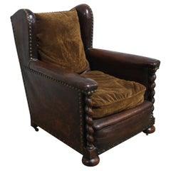 French 19th Century Club Chair