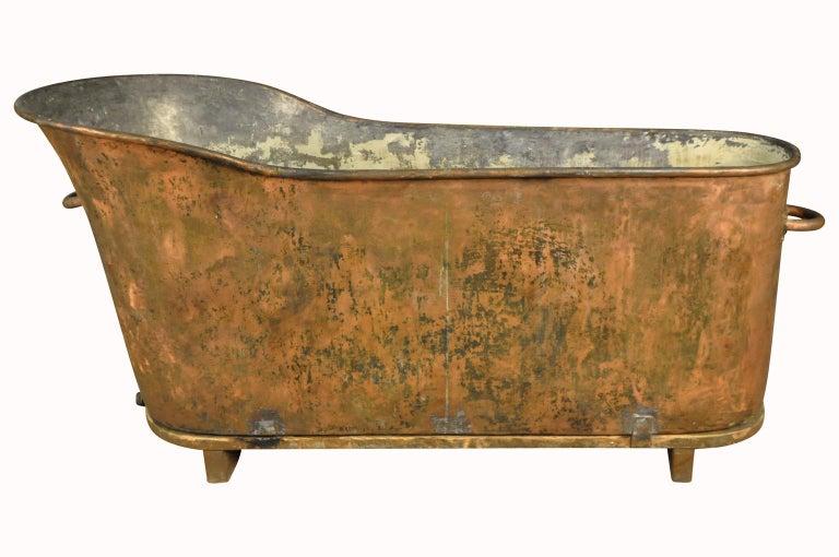 Französisch Kupfer 19 Jahrhundert Badewanne Im Angebot Bei 1stdibs