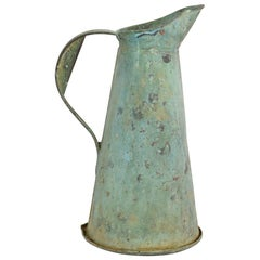 French 19th Century Copper Water Jug