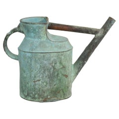 French 19th Century Copper Watering Can