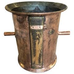 French 19th Century Copper Wine Measure