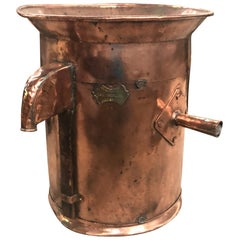 French 19th Century Copper Wine Measure