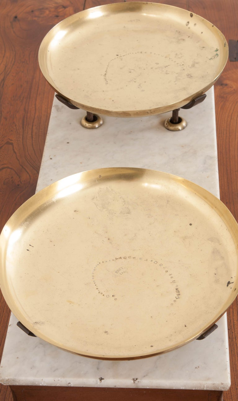 French 19th Century Culinary Scale from Lyon In Good Condition For Sale In Baton Rouge, LA