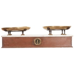 French 19th Century Culinary Scale from Lyon