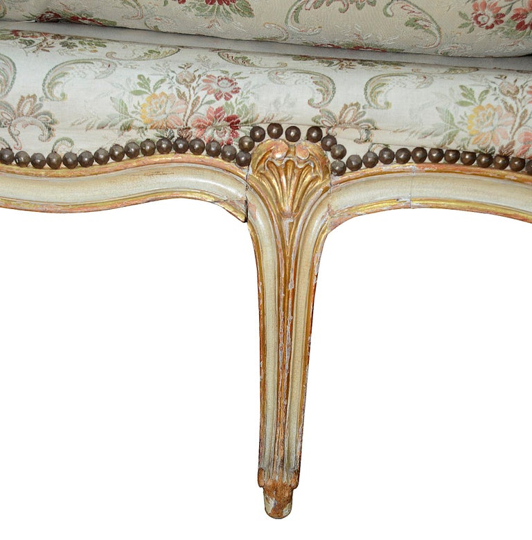 French 19th Century Daybed, circa 1860 For Sale 4