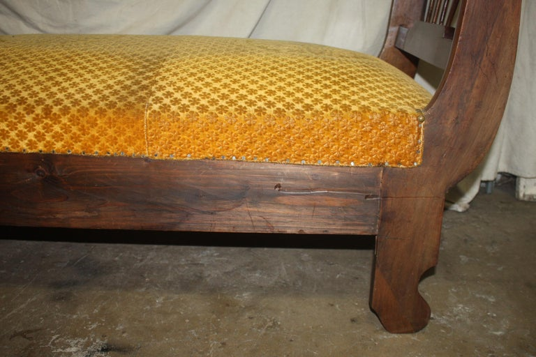 Mid-19th Century French 19th Century Daybed For Sale
