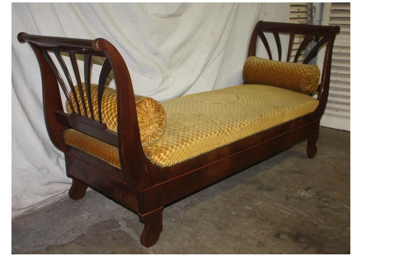 French 19th Century Daybed For Sale 1
