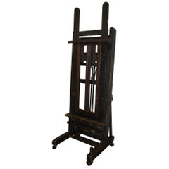 French 19th Century Easel