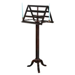 French 19th Century Ebony Duet Music Stand