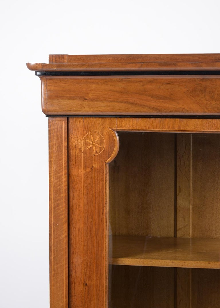 French 19th Century Empire Bookcase In Good Condition For Sale In Los Angeles, CA