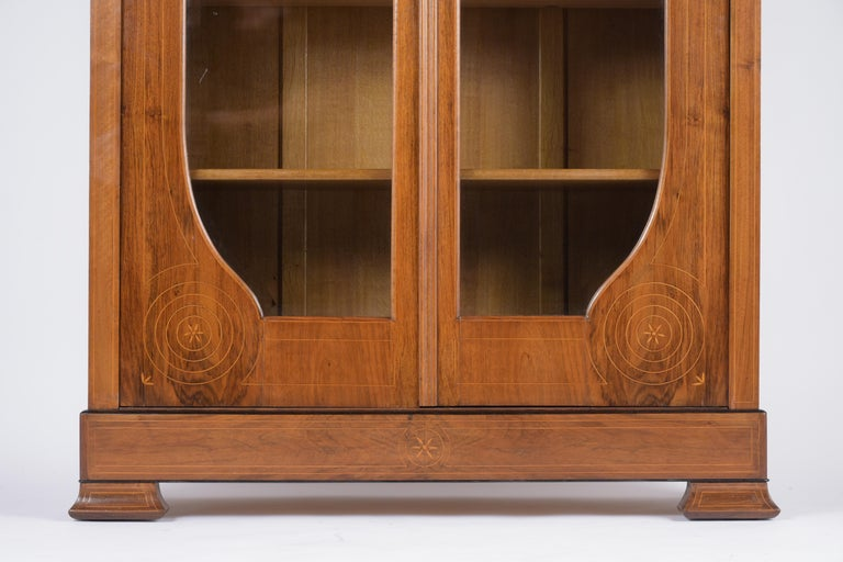 Late 19th Century French 19th Century Empire Bookcase For Sale