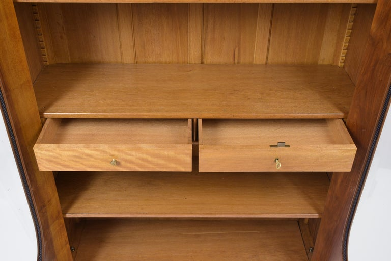 French 19th Century Empire Bookcase For Sale 1