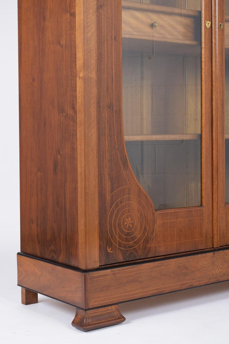 French 19th Century Empire Bookcase For Sale 3
