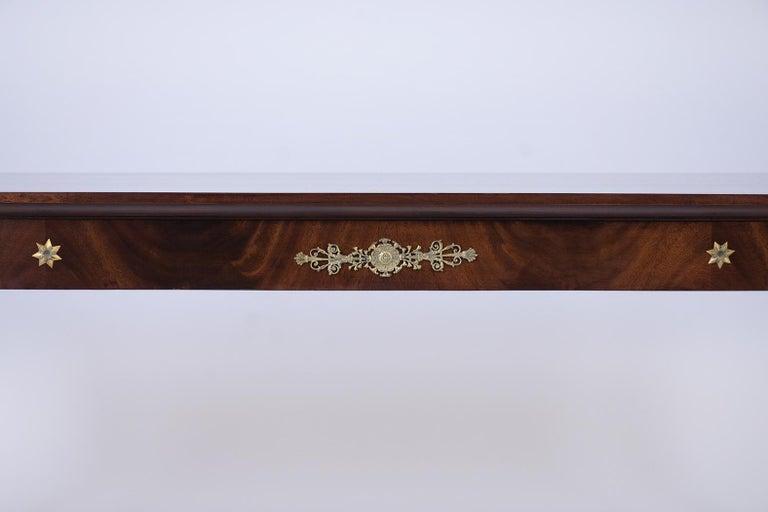 French 19th Century Empire Mahogany Desk For Sale 1